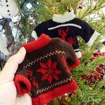 크리스마스 장식 니트 스웨터 오너먼트 (2종)