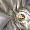 웜 니트 아이보리 블랭킷 대형 (105x150)