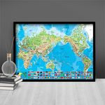 1000조각 직소퍼즐 - 세계지도 한글판 (BN810-12)