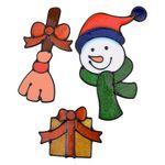 크리스마스 3종 젤리스티커
