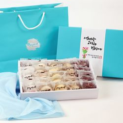 시루아네 감사 2호 선물세트(60g씩25개1.5kg)+감사카드