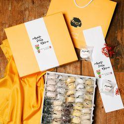 시루아네 감사 3호 선물세트(60g씩40개2.4kg)+감사카드