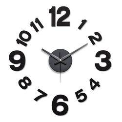 내맘대로 시계디자인 거실인테리어 DIY벽시계 올블랙