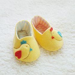 오가닉 병아리 꼬까신 아기신발 만들기 태교바느질DIY