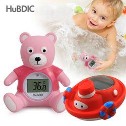 [휴비딕]목욕놀이 지털 탕온도계 (곰돌이배) HB-12
