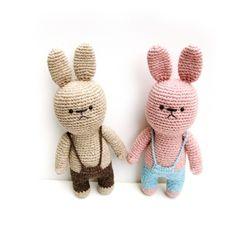 손뜨개인형 DIY-토끼친구2