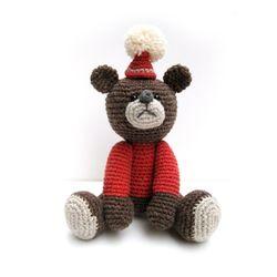 손뜨개인형 DIY-빨간모자아기곰
