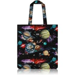 Space Solar System Flat Tote Bag