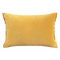 벨벳 쿠션 Velvet Cushion-Mustard
