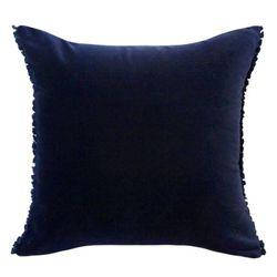 벨벳 쿠션 Velvet Cushion-Navy