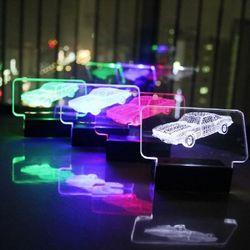 3D LED 주차번호판