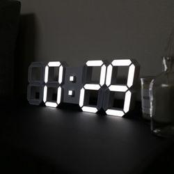 루나리스 3D LED 벽시계 [MINI]