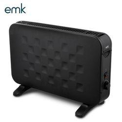 emk 스칸디나비아 디자인 컨벡션히터 ECH-L200BK 블랙