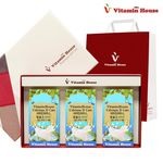 칼슘D케어 3병 선물세트 씹어먹는 칼슘