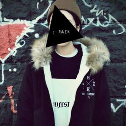 [라지크]RAZK-42 RC H-ZIP UP(BLACK)