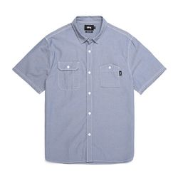 - SPRING CHAMBRAY SHIRT (LIGHT BLUE)