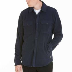 - LAFAYETTE FLEECE SHIRT (DARK NAVY)