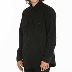 - LAFAYETTE FLEECE SHIRT (BLACK)