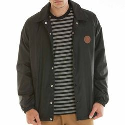 - MERCER COACHES JACKET (BLACK)
