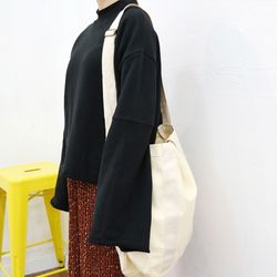 Boxy cotton bag