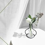 Nude Vase (H135) + Glass Vase
