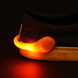 LED점등 슈즈클립 [오렌지]