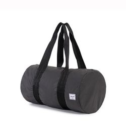 [허쉘]- PACKABLE DUFFLE REFLECTIVE (Black)