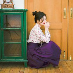 [매듭노리개 증정(색상랜덤)] [랩스커트] 청아한 그녀