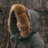 리얼 라쿤퍼 덕다운 롱패딩-오리털 백프로 충전재