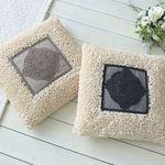 웜레이스 광목 면 방석 (솜미포함) - 2color
