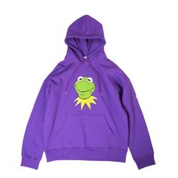 KERMIT BIG FACE PURPLE HOODIE