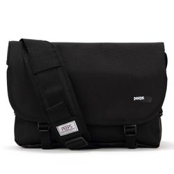[핍스] PEEPS essential messenger bag(black)