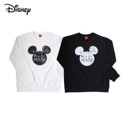 디즈니 마우스 미키 맨투맨 티셔츠기모미키마우스정품