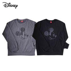 디즈니 스마일 미키 맨투맨 티셔츠기모미키마우스정품