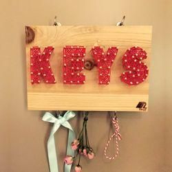 키고리 스트링아트 KEYS 만들기 패키지 DIY