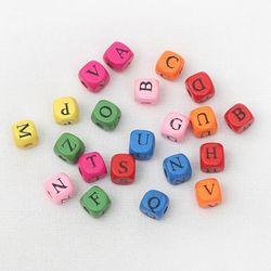 알파벳 사각구슬(30g)