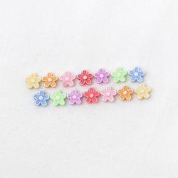 파스텔구슬 다섯잎 꽃(30g)