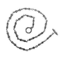 금강경 체인 은목걸이