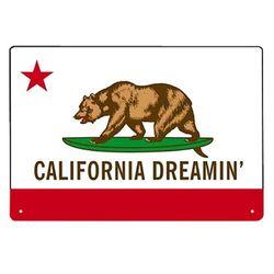 인테리어 틴보드-California Dreamin