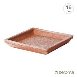 데로마 토분 화분받침대 소토바소 콰드로(16cm)
