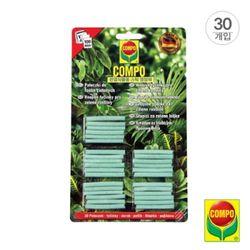 콤포 다용도 관엽식물용 스틱형 식물영양제(30개입)