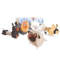 달려라퍼피 5마리 강아지 입체 종이접기