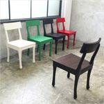 [인더룸] 빈티지가구5073 목재의자2개세트