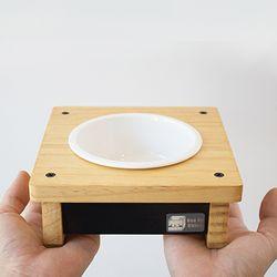 작은아이 원목식탁 소형견용 1구