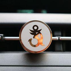 Buddha om white 차량용 디퓨저