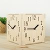 (ktk074)친환경자작나무 삼면시계(숫자)