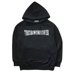 THESHOWSNOTOVER LOGO HOODY(BLACK)