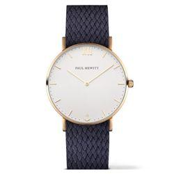 폴휴잇 Sailor 화이트 골드 페르론 네이비 블루 시계