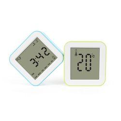 심플 다기능 멀티 온도 타이머 LCD 알람시계