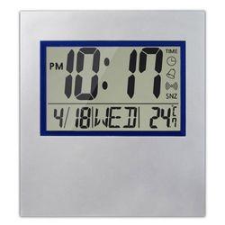 심플 빅 LCD 달력 온도 접이식 탁상시계 ENKO